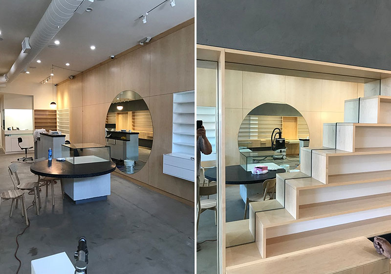 The Glass House Gallery Custom Glass Mirrors Shelving